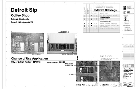 Change of Use Application Drawings