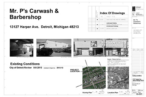 Carwash and Barbershop