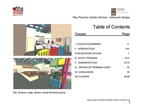 PAC Table of Contents