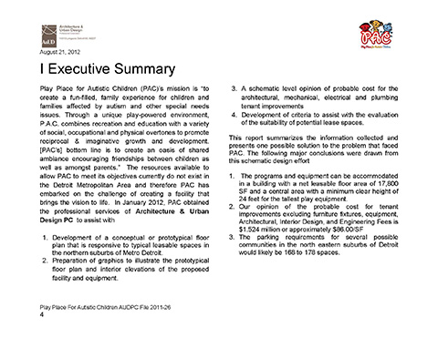 PAC Executive Summary