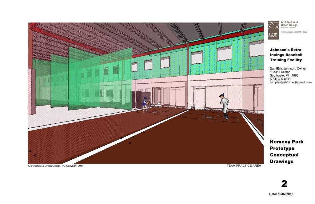 Johnson's Indoor Baseball Training Facility at Kemeny Park - Detroit, MI